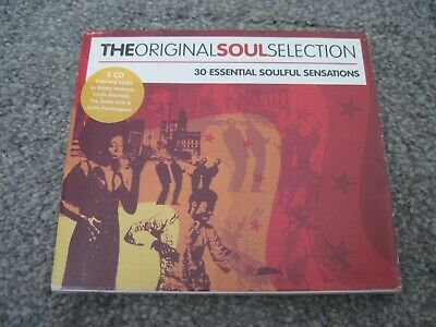 THE ORIGINAL SOUL SELECTION Various Artists 2xCD 2005 ORIGINAL SELECTION  mint