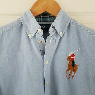 Superb Boys Polo Ralph Lauren Shirt Aged 10-12