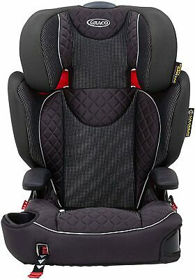 Graco Affix Highback Booster Car seat Isofix Latch System 15-36kg 4-12 years