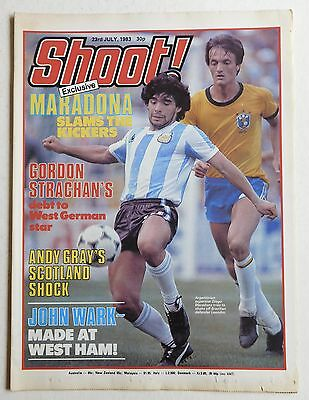 SHOOT Football Magazine - 23 July 1983 - England, Craig Paterson