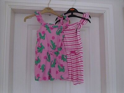 Girls George Summer short Playsuits  New with tags age 2-3
