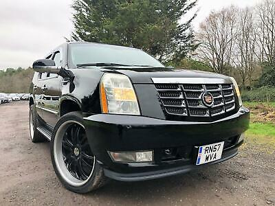 Fresh Import New Shape 57 Plate Cadillac Escalade 6.2 V8 Auto 4Wd Lhd Gmc Luxury
