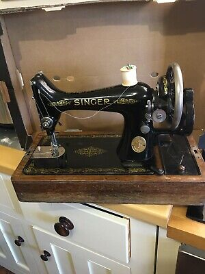 Antique Singer Sewing Machine Hand Crank