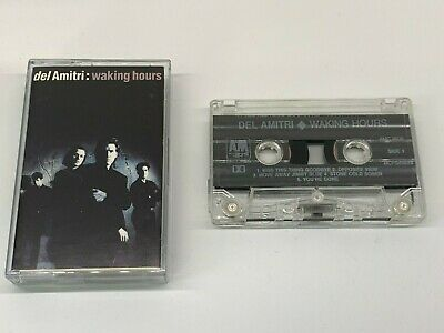Del Amitri Cassette - Waking Hours - A&M Label Chrome Tape