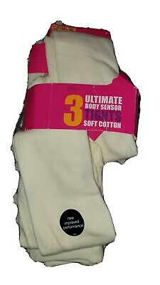 Girls Tights Age 11-12 Years (2 pack)