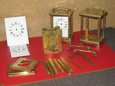 Antique French Carriage Clock Parts