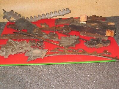 Vintage Black Forest Cuckoo Clock Parts