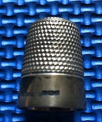 Silver Plate Thimble Size 4