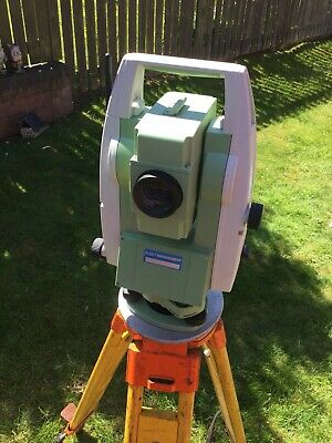 "leica ts06 5"" R4 Pinpoint Total Station"