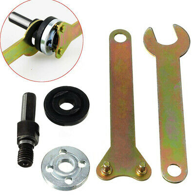 Arbor Mandrel Wrench Spanner Drill Adapter Grinder Cut-Off Wheels Rod Disc 10mm❤
