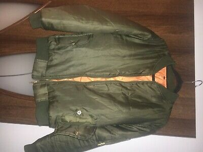 Girls Khaki Green Bomber Jacket With Pockets For 13 Years Old