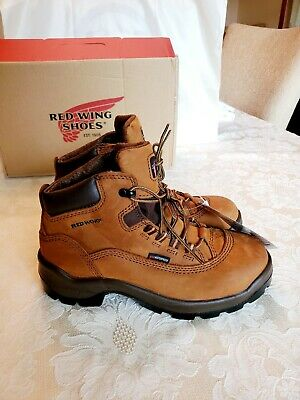 Redwing 1627 Womens Waterproof Electrical Safety Work Boot Sz 8