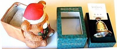 Christmas Bear & Bell>Excellent Condition