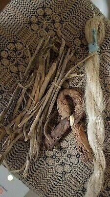 Early Flax Braid , Four Rush Bundles And Tobacco Bow Great Early Look !