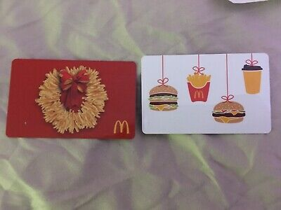 McDonald's gift cards arch cards dining LOOK $24.99 value