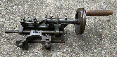Antique Segal Segalock 800 810 Cast Iron Manual Rectifying Key Cutting Machine