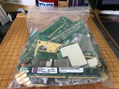 Lot of 1 Lbs Electronic Boards with Gold Fingers Scrap Gold Recovery