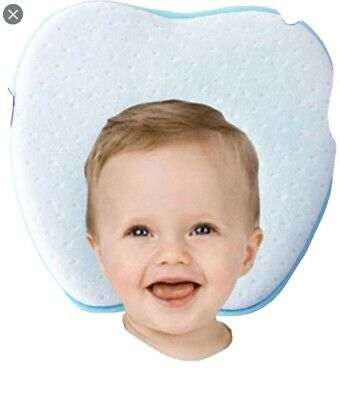 Mipies Baby pillow for Plagiocephaly prevents The Flad Head newborn