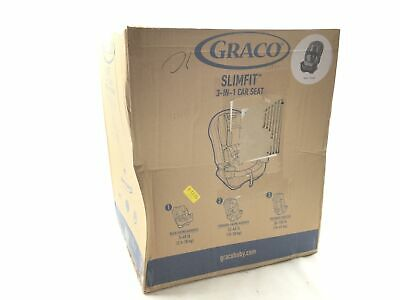 Graco SlimFit 3 in 1 Convertible Car Seat | Infant to Toddler Car Seat, Saves Sp