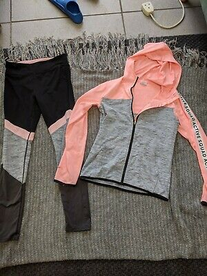 Girls H&M Tracksuit Top And Matching Leggings Age 10-12 ( Currently In Store)