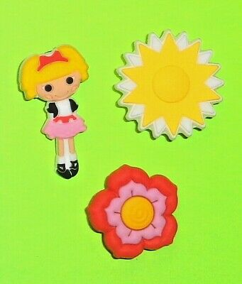 Girl Sun Flower Shoe Charms Shoe Pins Doll Shoe Decorations Shoe Accessories