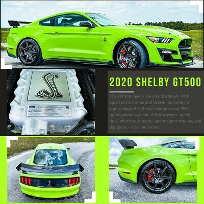 2020 Ford Mustang SHELBY GT500 Carbon Track Pack **RARE - 2020 FORD MUSTANG SHELBY GT 500 - CARBON FIBER TRACK PACK GOLDEN TICKET