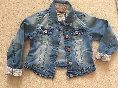 Next Girls Denim Jacket Size 7-8 Years