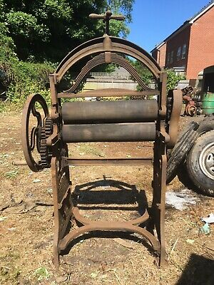 Tall Cast iron Vintage Mangle