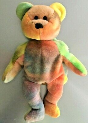 Garcia Bear #4051 Ty Beanie Baby  Gorgeous Colors!!
