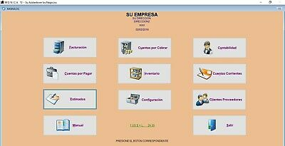 Point of Sale Software Monica10 (billing,accouting,accounts receivable etc).