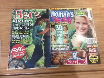 Womans Weekly 1995 And Hers 1974 Magazines