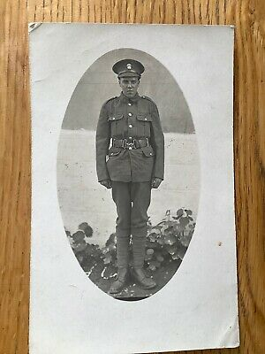 Vintage Postcard, WW1, Soldier, Northumberland Fusiliers, 17th NER Pioneers