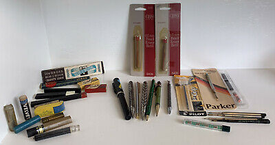 Vintage Pen/Pencil/Parts Lot
