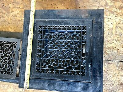 Victorian Antique Cast Iron Air Vent/Grate