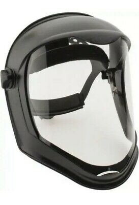 NEW Uvex Bionic Face Shield Mask with Clear Polycarbonate Visor S8500 FAST SHIP