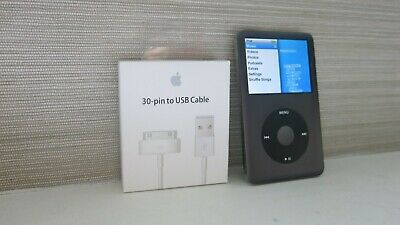 Apple Ipod Classic 128Gb In Grey Newest 7Th Gen Upgraded To Sd Card