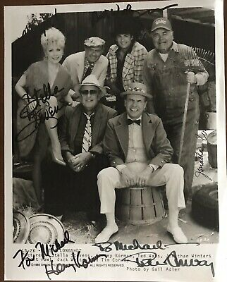 THE LONGSHOT Movie Still Signed By 5..CONWAY, KORMAN, STEVENS, WINTERS..(3 Dec)