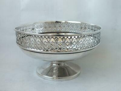 Solid Sterling Silver Bowl 1923/ Dia 11.8 cm/ 120 g