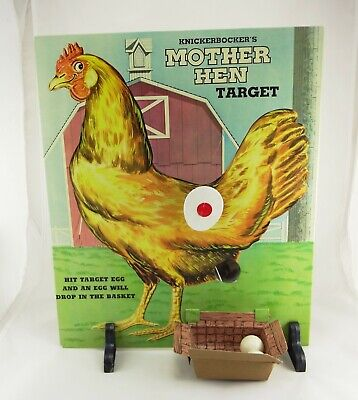 Vintage Knickerbocker Mother Hen Target Game