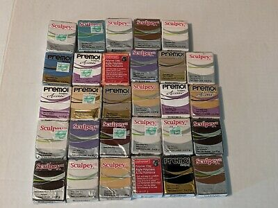 Lot (29) Unopened FIMO~Premo~Sculpey~Sculpey III~craft smart