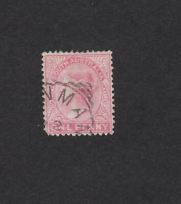 South Australia Scott Number 115 Double Impression Variety / Error Used Stamp