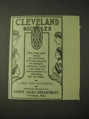 1900 American Bicycle Co. Cleveland bicycles Ad