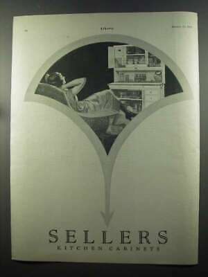 1925 Sellers Kitchen Cabinets Ad