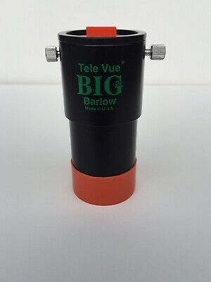 "Tele Vue 2"" 2x Big Barlow with 1.25"" Adapter"