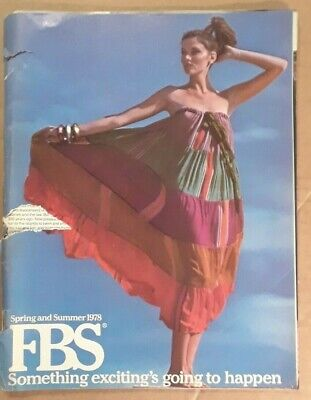 FBS Fashion Catalog. Spring and Summer 1978. Paradise Beach Edition. Swimsuits.