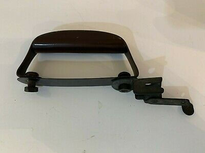 Singer Sewing Bentwood Case D Handle Sewing Machine Vintage 1938