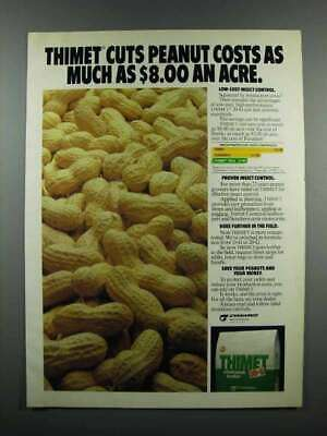 1983 Cyanamid Thimet 20-G Soil Insecticide Ad