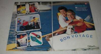 1987 Swatch Watches and Funwear Ad - Blue Horizon and Pago Pago watches