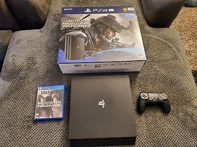 Sony PlayStation 4 Pro 1TB Call of Duty Adult Owned! Barely Used!! Warranty!!
