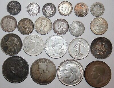 Lot of World Silver Coins    #0035